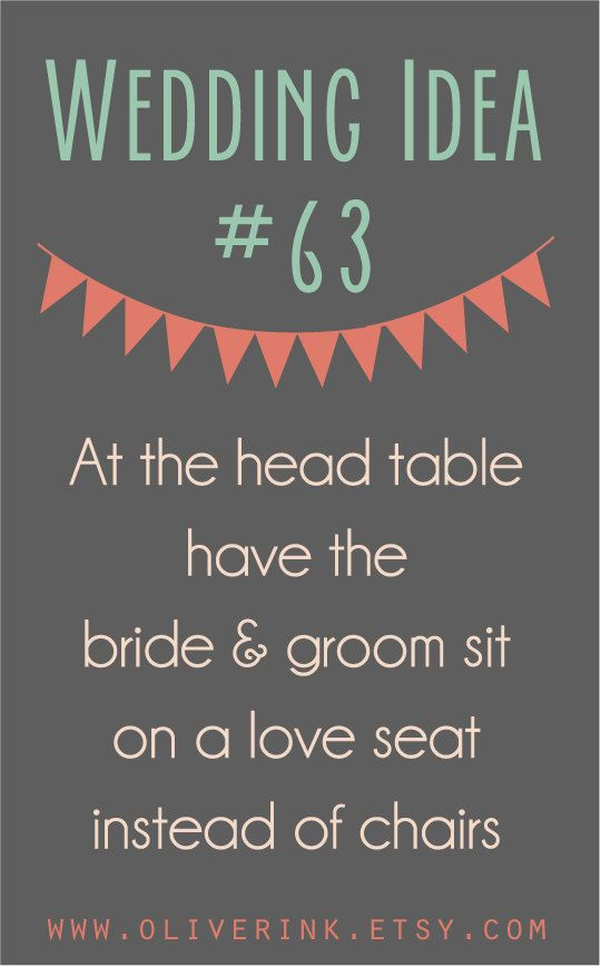 Wedding Reception Ideas by OliverINK on Etsy www.oliverink.etsy.com