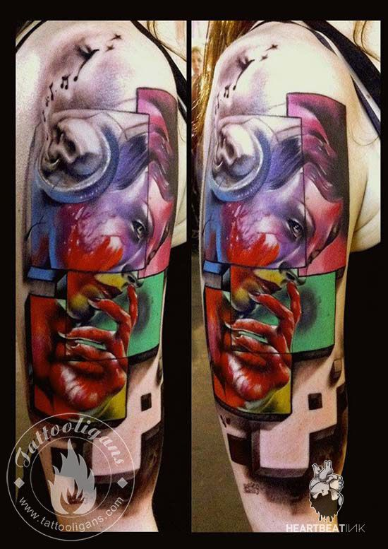 """www.heartbeatink.gr George Mavridis - Tattooligans  """"An expert on realistic tattoos and globally recognized, George Mavridis gave HeartbeatInk an exclusive interview about his career and the art of the tattoo"""""""