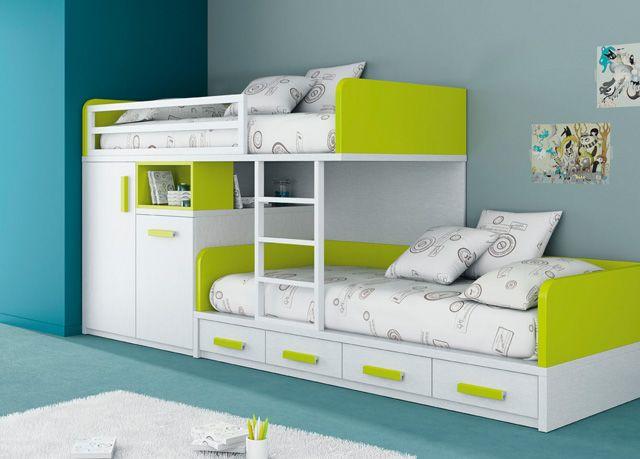 Dormitorio juvenil 069-KU2-009 de Singulárea