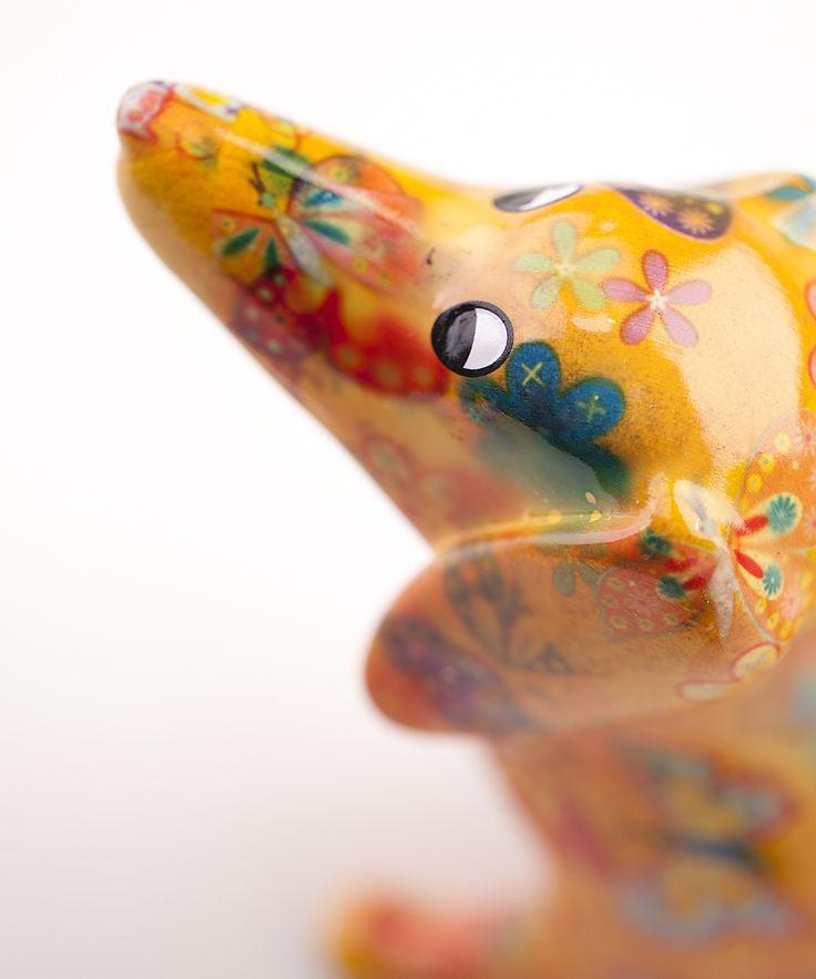 Spaarpot Teckel van Pomme-Pidou http://www.toefwonen.nl/c-2216947/pomme-pidou/
