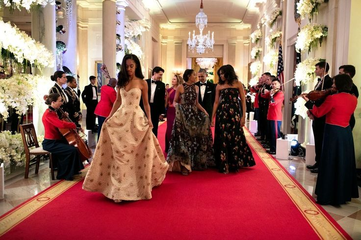 In March 2016, the girls attended their very first state dinner in honor of Canada's prime minister Justin ...