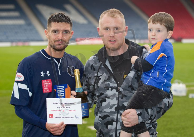 Queen's Park's Paul Woods Man of the Match for the Ladbrokes League One game between Queen's Park and East Fife.