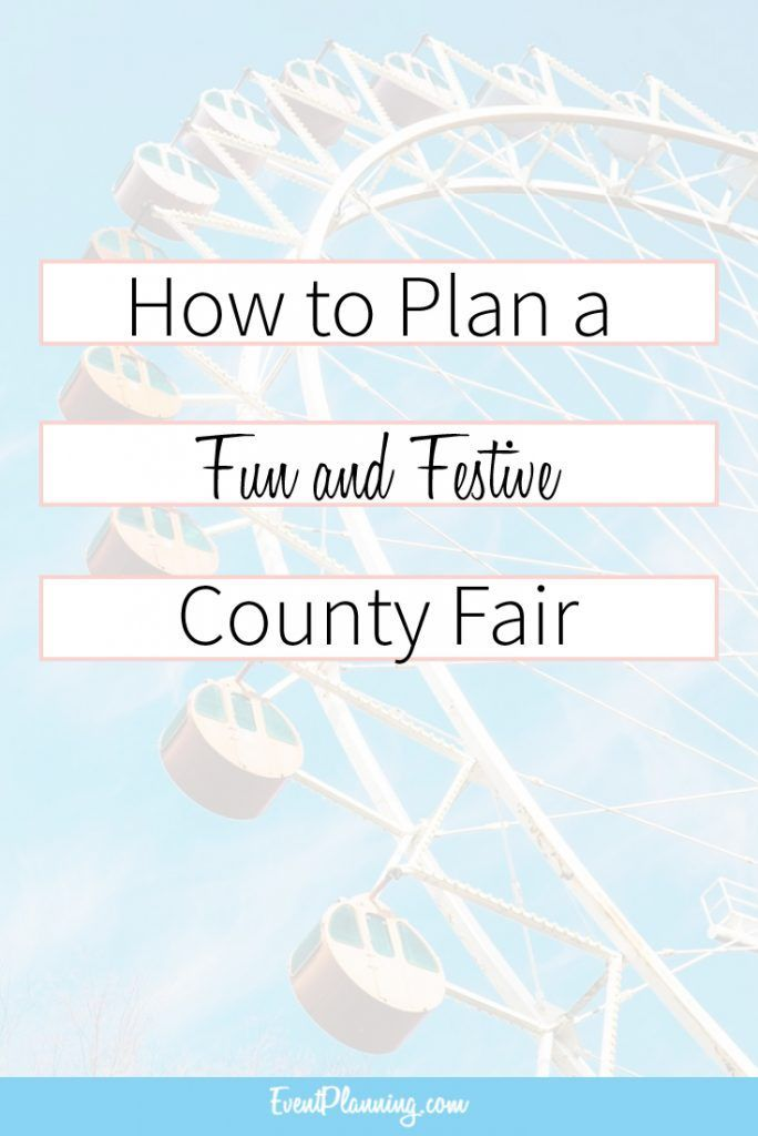 how to plan an event planning business