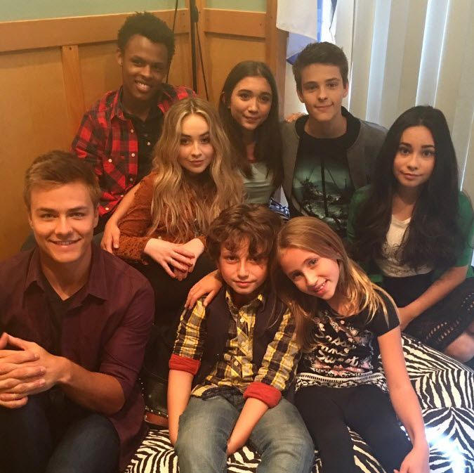 As I had written a few days ago, August Maturo and his Girl Meets World castmates spent time together at the beachthis past weekend…