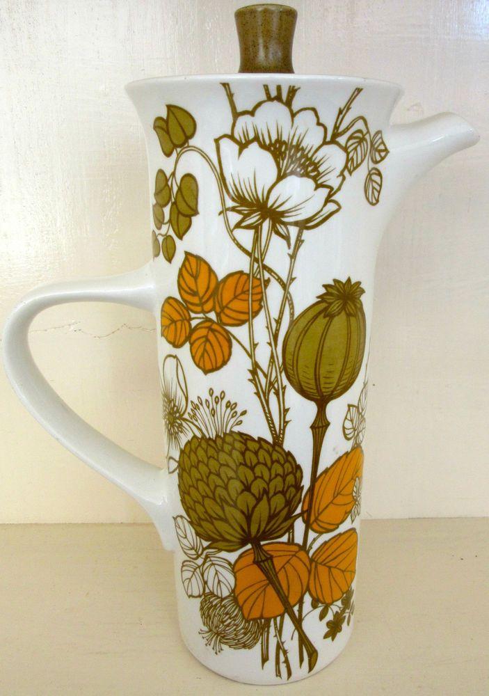 Vintage Coffee Pot - Retro Coffee Pot – Made in Staffordshire England