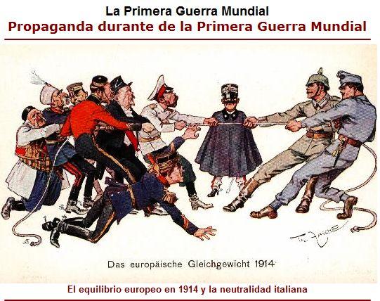 Causas de la Primera Guerra Mundial : Historia Universal