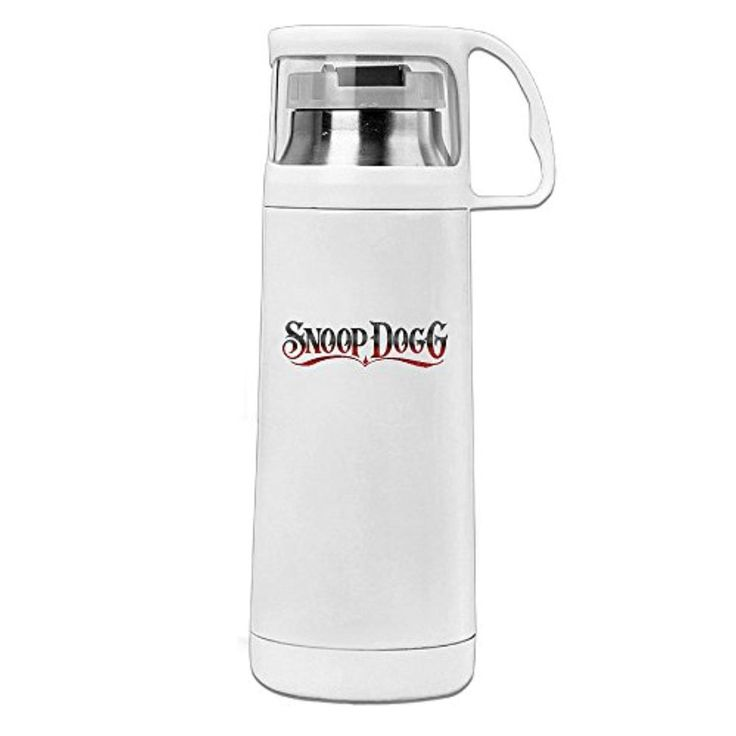 DAMEI Hip Hop Rap Snoop Dogg King Singer Stainless Steel Mug / 350mL Coffee Thermos & Vacuum Flask Water Bottle - Brought to you by Avarsha.com