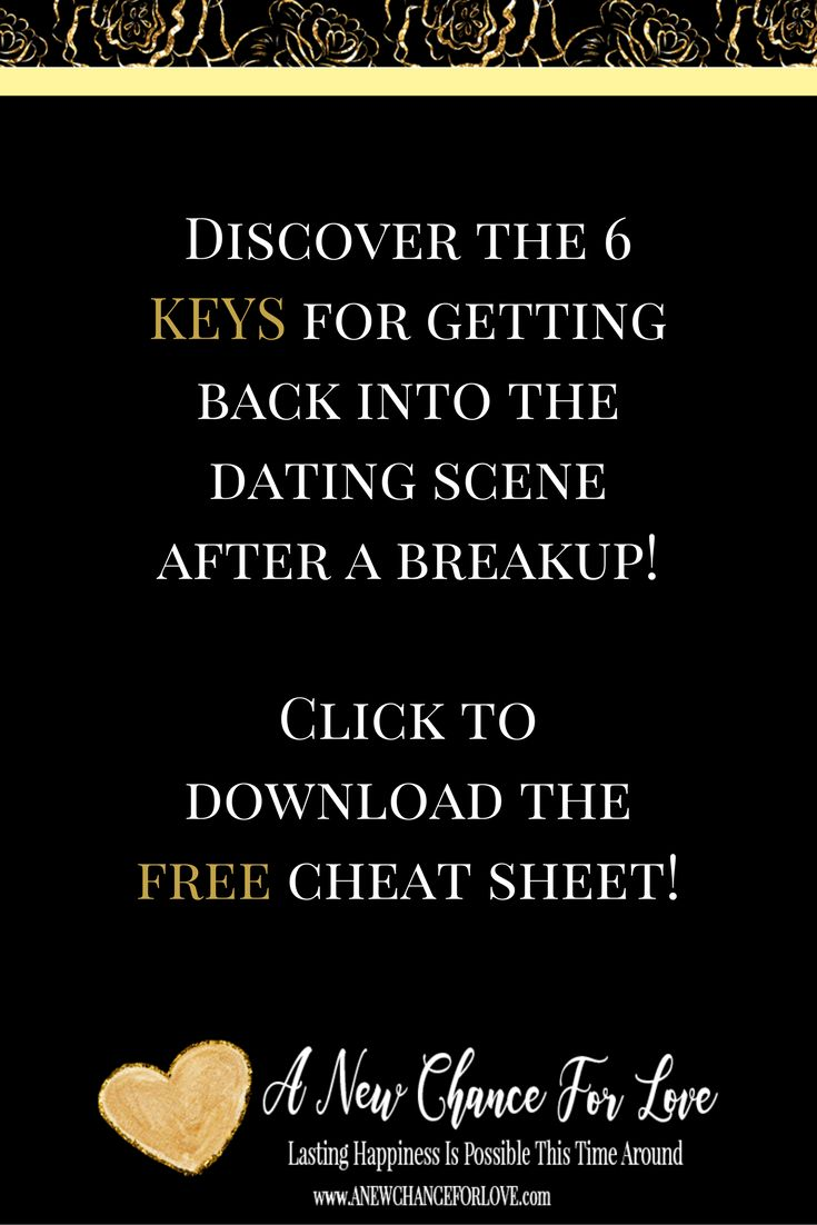 How To Get Abet Into The Dating Scene After A Breakup