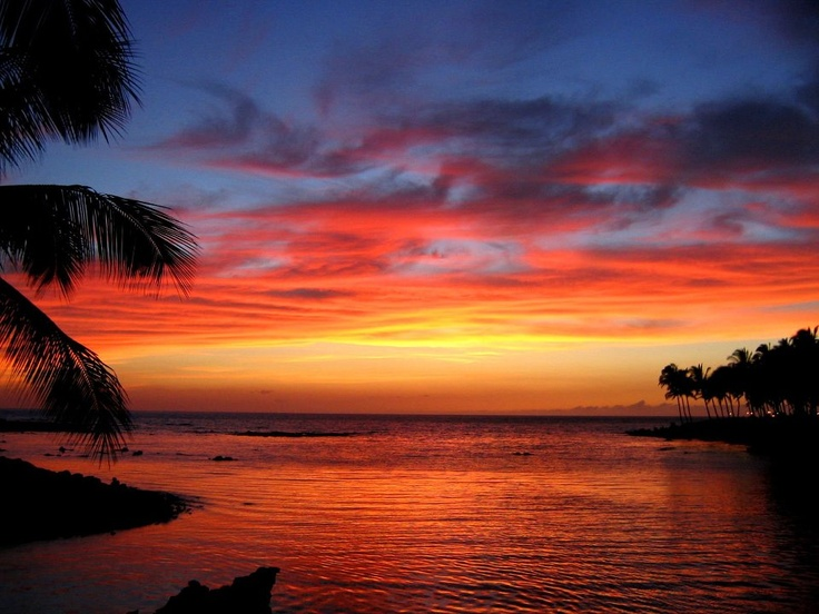 Hawaiian Sunset #Hawaii