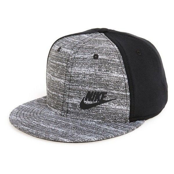 Men's Nike 'True Tech' Snapback Cap (€31) ❤ liked on Polyvore featuring men's…