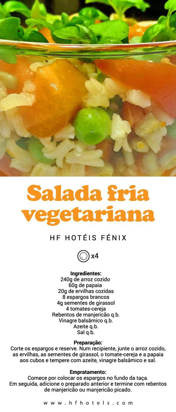 Hf ideas parrillas y asados - 4 Receitas Do Nosso Chef Para Brilhar L Em Casa Salada Fria Vegetariana