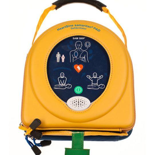 Buy the HeartSine Samaritan 500P Defibrillator. This advanced defibrillator can be purchased for the competitive price of $2,895.00 and provides real tie CPR feedback. #SamaritanPad500PDefibrillatorwithCPRAdvisor #HeartSineSamaritan