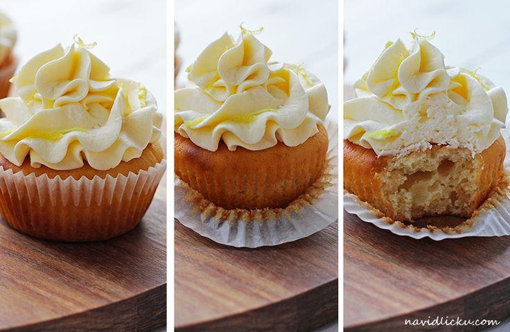 Na vidličku: Citronové cupcakes s ricottou