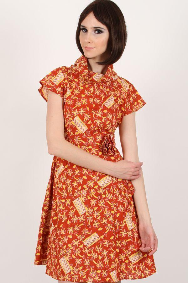 Kirana Batik Dress