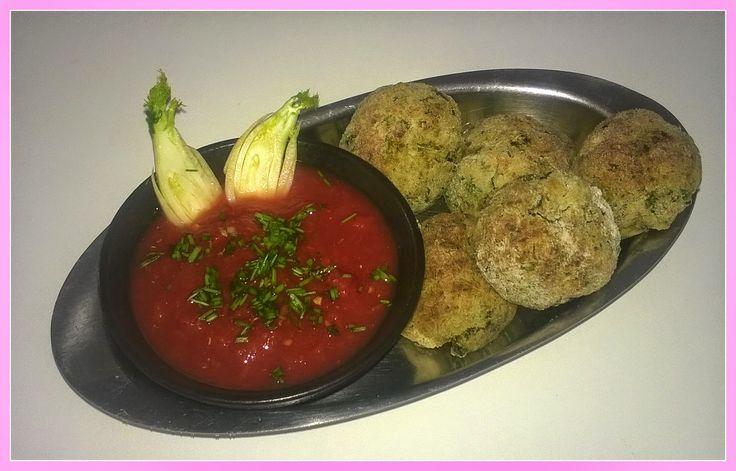 No gluten! Yes vegan!: Polpette di fagioli dall' occhio e alghe con salsa...