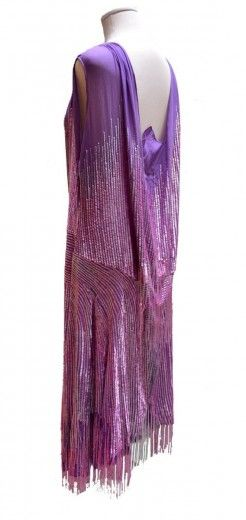 ~1930s dress from the collection of Loretta Caponi, founder of the eponymous Florentine atelier~