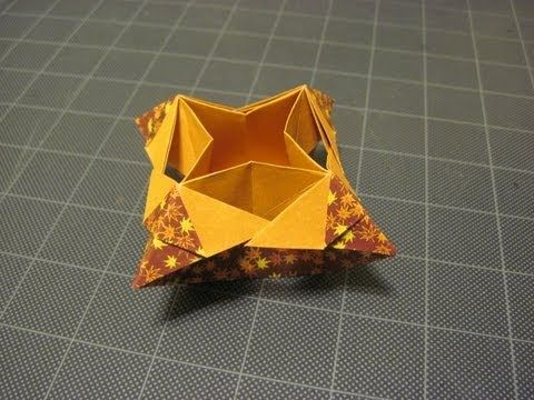 Origami: Evi's Simple Box 2 - YouTube