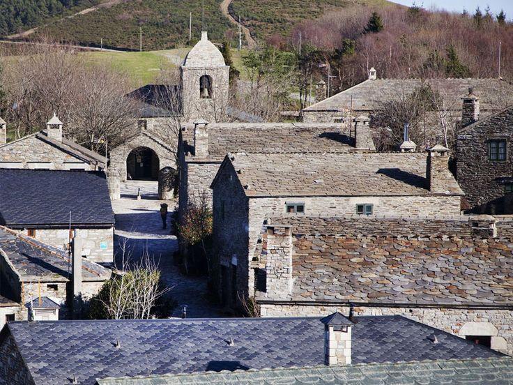 O Cebreiro (Lugo). Las montañas de Os Ancares. #Galicia