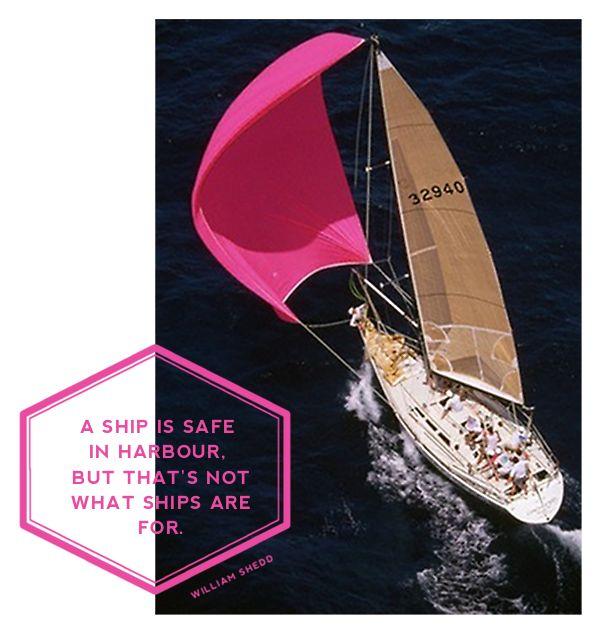 #WilliamShedd: Buckets Lists, Sailboats, Sailaway, Pink Sailing, Travel Accessories, Hot Pink, Sailingboats, Sailing Away, Sailing Boats