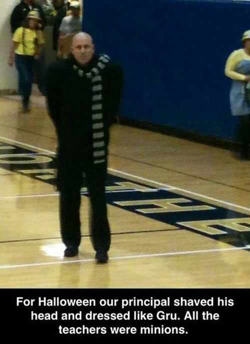 Despicable principal // funny pictures - funny photos - funny images - funny pics - funny quotes - #lol #humor #funnypictures