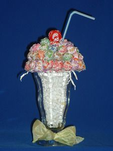 Dum Dum Sundae Candy Arrangement - Bouquet