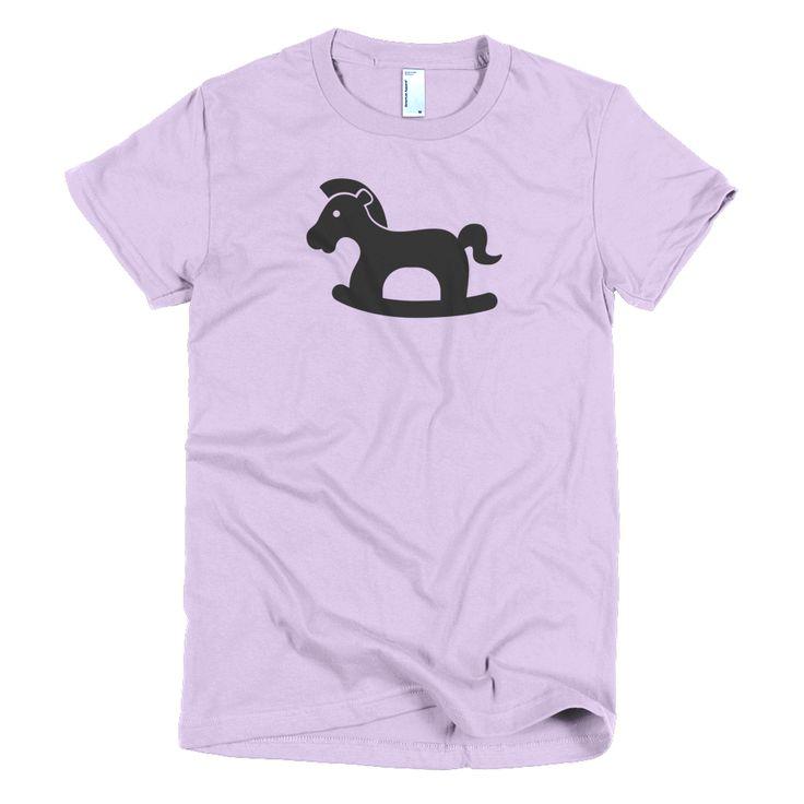 Pony Short sleeve women's t-shirt  #me #happy #summer #followme #selfie #love #hashtagtogo #smile #like4like #like