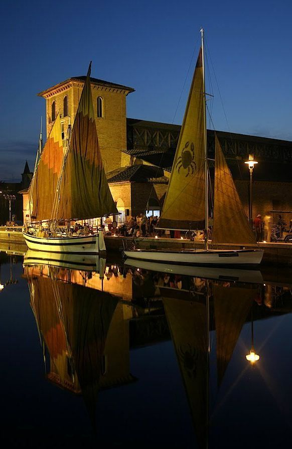 Cervia, region of Emilia Romagna, province of Ravenna, Italy; One of the best travel destinations in Europe