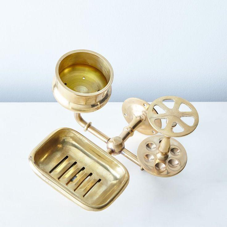 Brass Sink Caddy
