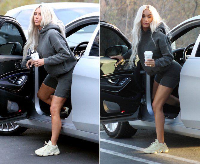 b172e06beb703 Yeezy Season 6 Models Dress Up Like Kim Kardashian - See the Comparison