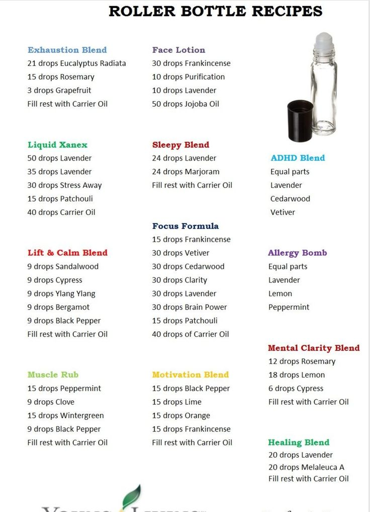 Young Living essential oil roller blends #2041974