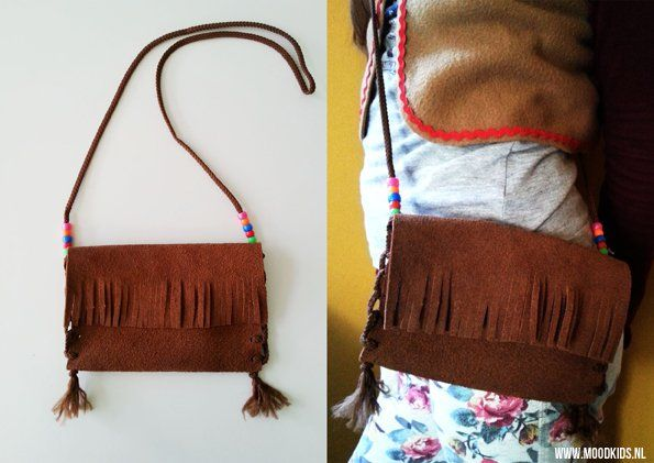 Leuk voor een meidenfeestje! Indianentasje maken - Moodkids | Moodkids