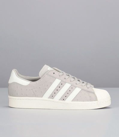 Sneakers grises pois Superstar 80s Gris Adidas Originals prix promo Baskets Femme Monshowroom 130.00 €