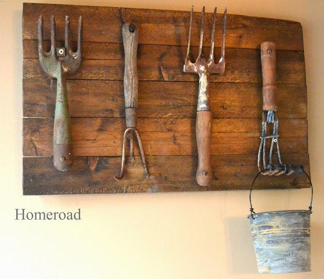 Repurposing Vintage Hand Tools