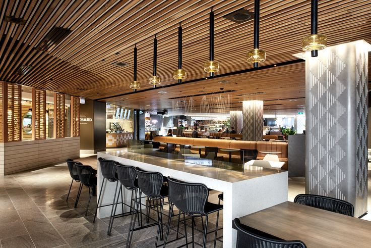 Gateway Dining, Sydney, by MTRDC. Photography by Ryan Linnegar Photography.