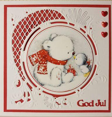 Skatmammans hörna : Och så ett i rött och vitt...