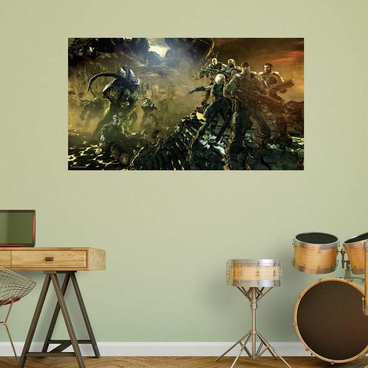 Fathead Gears Of War 3 Battle Wall Mural - 1102-00005