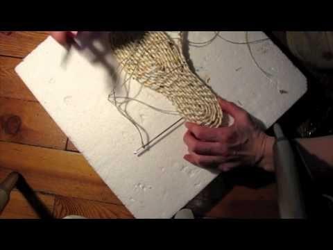 Realización de suelas de zapatos Parte 5: Alpargata Soles! - YouTube