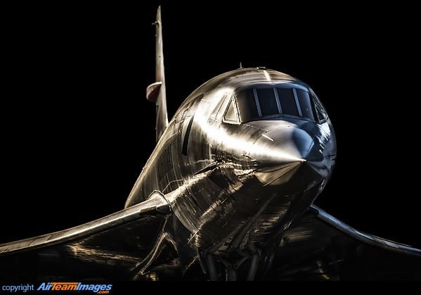 Aerospatiale-BAC Concorde 102 on display at the Seattle Museum of Flight - photo by Angelo Bufalino
