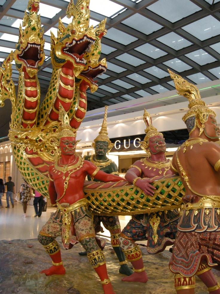 Bangkok, Thailand, Airport