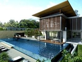 Private house in Malaysia by Architects Bedmar & Shi