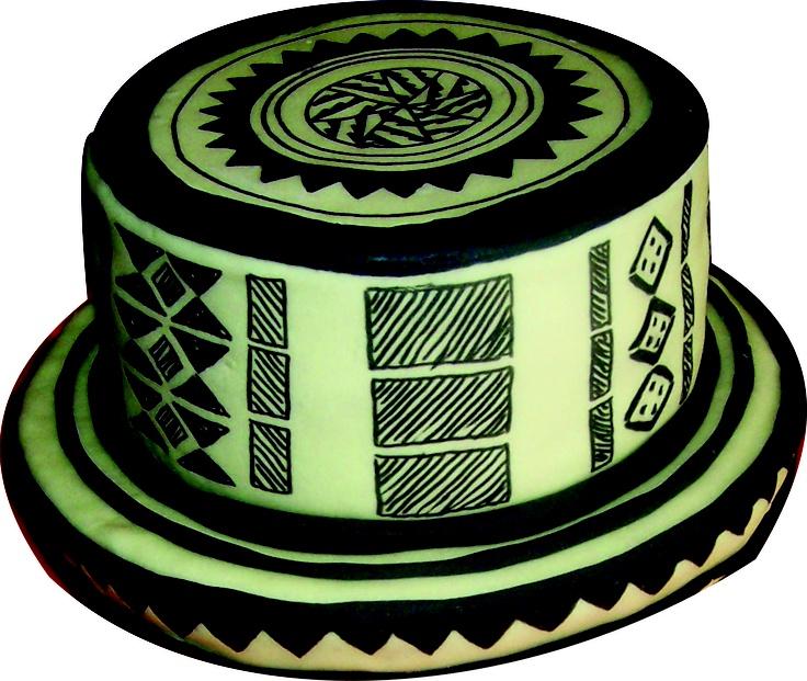 Sombrero Vueltiao Cake