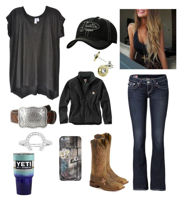 """Been a busy week"" by babyinblue on Polyvore featuring True Religion, Carhartt, Wilt, Justin Boots, Ariat, ASPCA and Tony Lama"