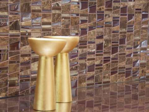 Glass and Stone Mosaic Tiles