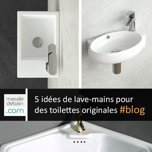 5 Idees De Lave Main Pour Des Toilettes Originales Lave Main Salle De Bain Toilettes