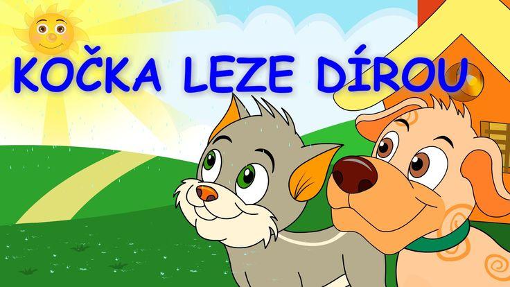 Písničky pro děti a nejmenší | Kočka leze dírou + 22 min.