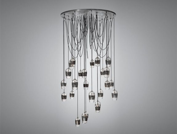 Holly Hunt Alison Berger Chandeliers   These Are Gorgeous.
