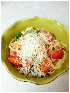 Spicy Spaghetti | The Chic Tartlet | Recipes | Pinterest