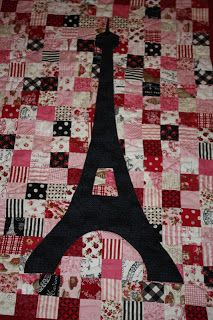 Christy: Paris Quilt from jelly rolls