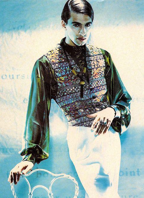 Puck & Hans for Elegance, 80's, styling Manja Magnin