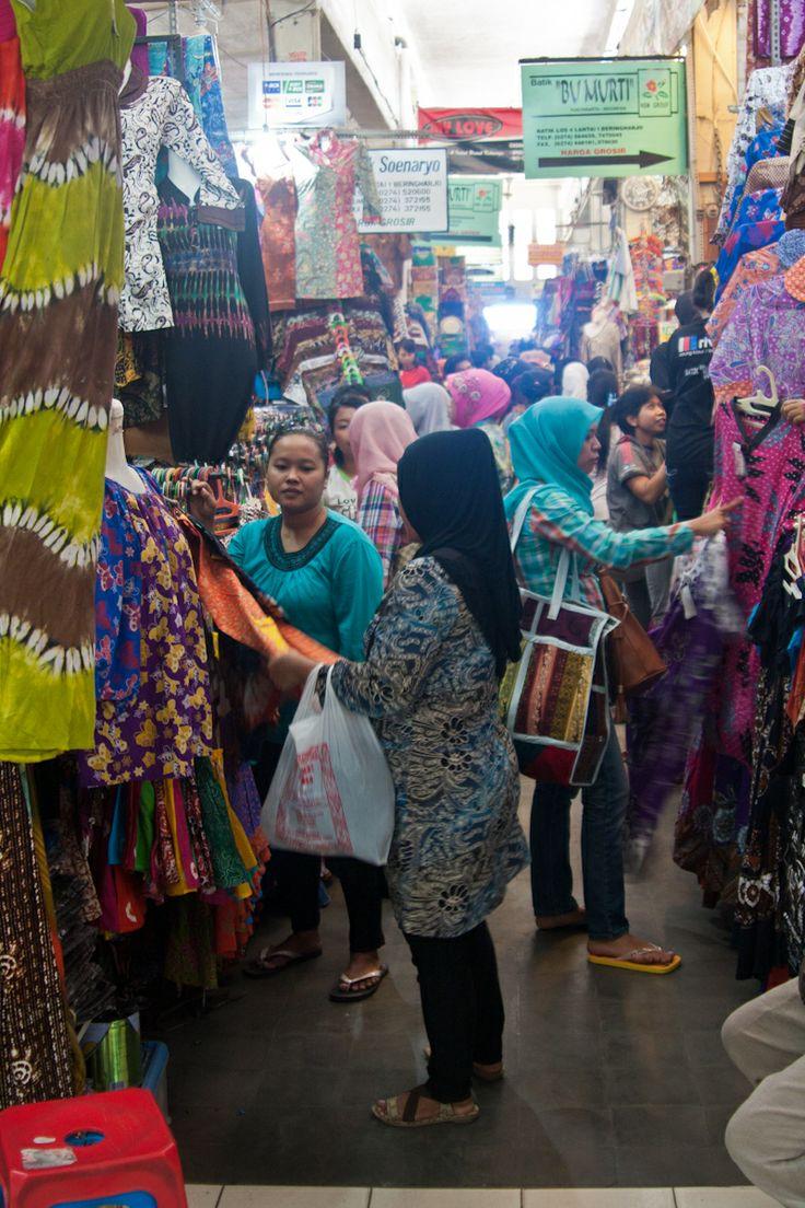 At the Pasar Beringharjo in Yogyakarta, Java.